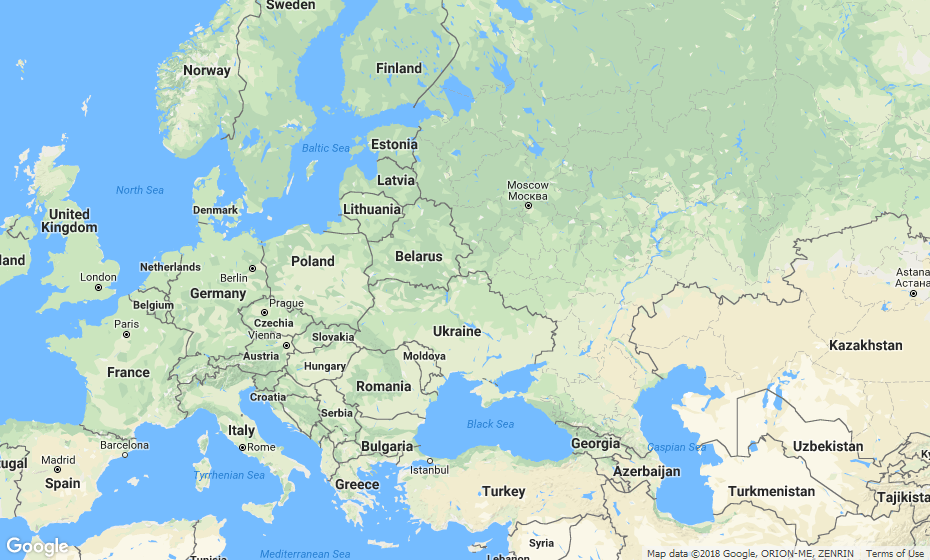 odległość między miastami